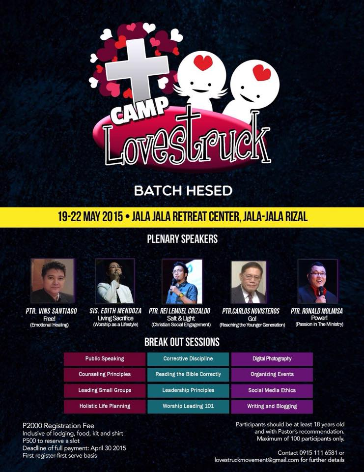Lovestruck Camp Batch Hesed