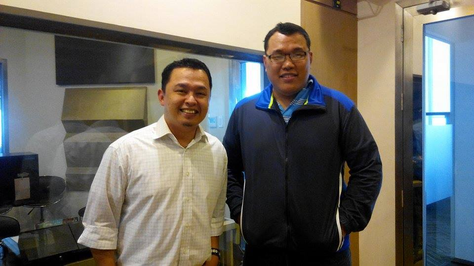 With Pastor Jem Quesada