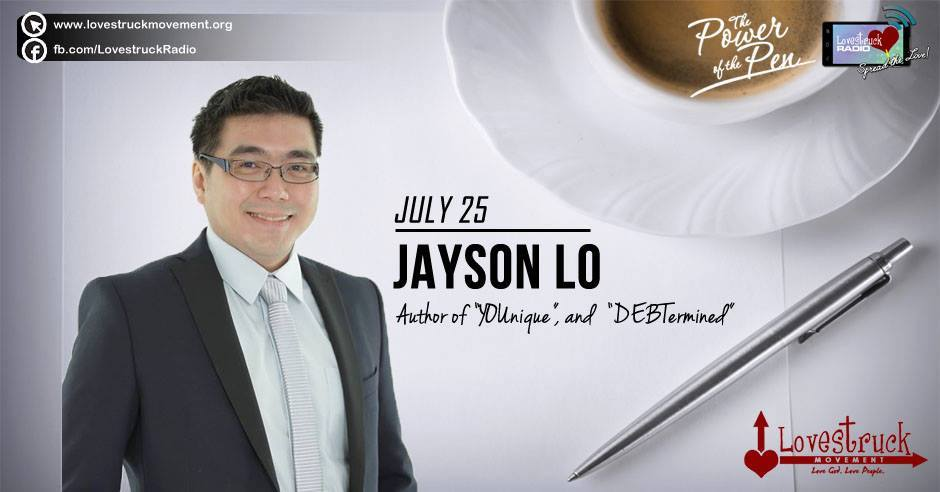 "Mr ""YOUnique/DEBTermined"", Jayson Lo"